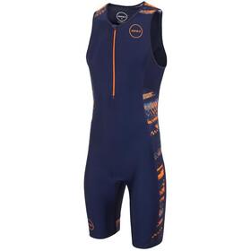 Zone3 Activate Plus Trisuit Men track speed-navy/orange/blue